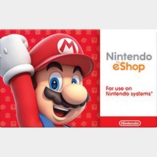 $20.00 Nintendo eShop US AUTO DELIVERY