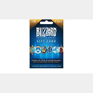 $100.00 BLIZZARD US ONLY AUTO DELIVERY