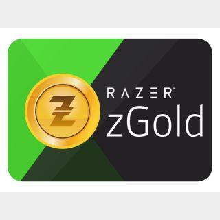 $5.00 Razer gold Auto Delivery Global