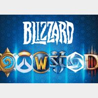 $50.00 Battle.net Blizzard Gift Card US AUTO DELIVERY