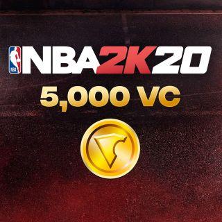 NBA 2K20: 5000 VC Pack - [PS4 Digital Code]
