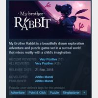 [steam game key] My Brother Rabbit SAVE 90%