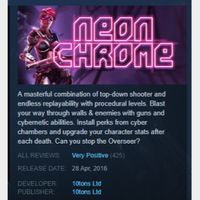 [steam game key] Neon Chrome  90%