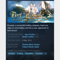 [steam game key] Port Royale 3 SAVE 90%