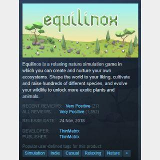 [steam game key] Equilinox  90%