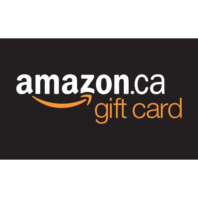 Amazon.ca $100 E-Code, 20% Off