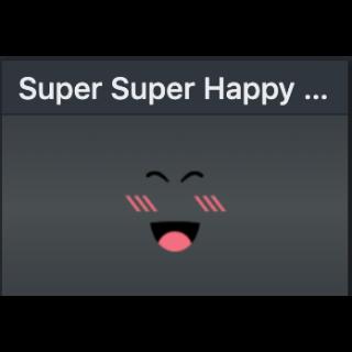 Limited | Super super happy face