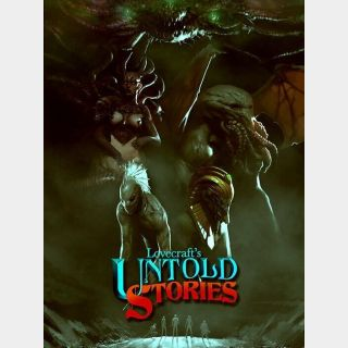 Lovecraft's Untold Stories [Instant Delivery]