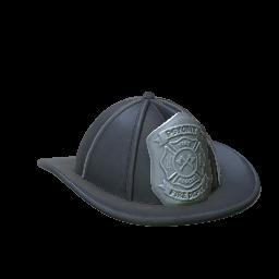 Fire Helmet | Black