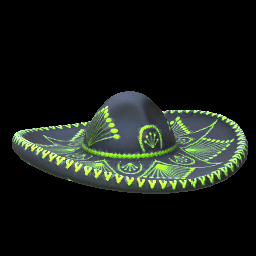 Mariachi Hat | Lime