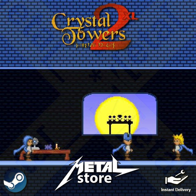 🤘 Crystal Towers 2 XL