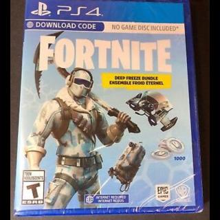 Code | Deep freeze PS4 US/CA