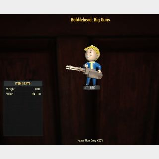 Aid | 100 Bobblehead: Big Guns