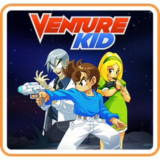 Venture Kid - Switch NA - FULL GAME - Instant
