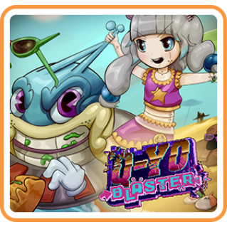 Q-YO Blaster (Playable Now) - Switch NA - Full Game - Instant