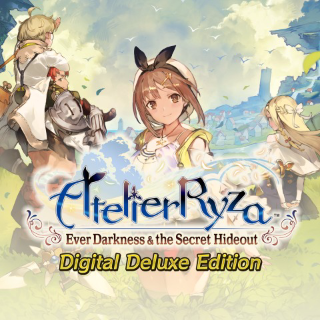 Atelier Ryza: Digital Deluxe Edition with bonus - PS4 EU - Full Game - Instant - P58