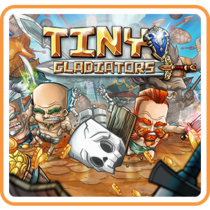 Tiny Gladiators (Playable Now) - Switch EU - Full Game - Instant - Q39