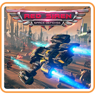 Red Siren: Space Defense - FULL GAME - Switch NA - Instant