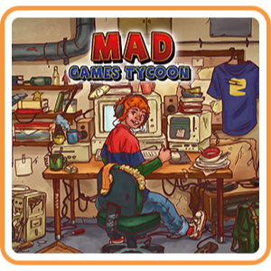 Mad Games Tycoon - Full Game - Switch NA - Instant - P38