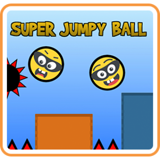 Super Jumpy Ball (Playable Now) - Switch NA - Full Game - Instant - H68