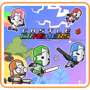 Castle Crashers Remastered - Switch NA - Full Game - Instant - J57
