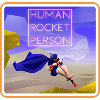 Human Rocket Person - Switch NA - Full Game - Instant