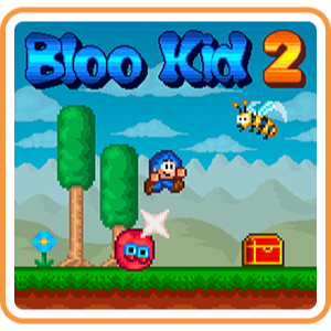 Bloo Kid 2 (Playable Now) - Full Game - Switch NA - Instant - P45