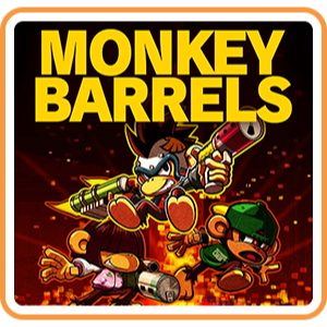MONKEY BARRELS - Switch EU - Full Game - Instant - S35