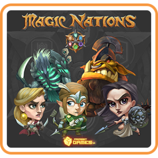 Magic Nations - Switch NA - Full Game - Instant - C69