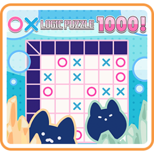 〇× LOGIC PUZZLE 1000 ! - Switch EU - Full Game - Instant - N43