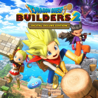 DRAGON QUEST BUILDERS 2 Digital Deluxe Pre-Order Edition (Playable Now) - PS4 EU - Instant - B48
