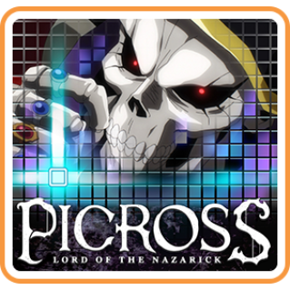PICROSS LORD OF THE NAZARICK (Playable Now) - Switch NA - Full Game - Instant - D40