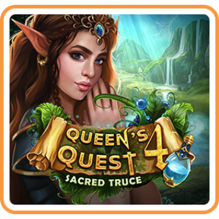 Queen's Quest 4: Sacred Truce - Switch NA - Full Game - Instant - M95