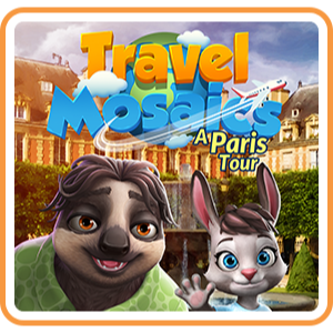 Travel Mosaics: A Paris Tour (Playable Now) - Switch NA - Full Game - Instant - S56