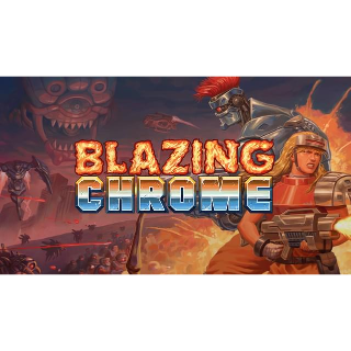 Blazing Chrome - Full Game - XB1 Instant