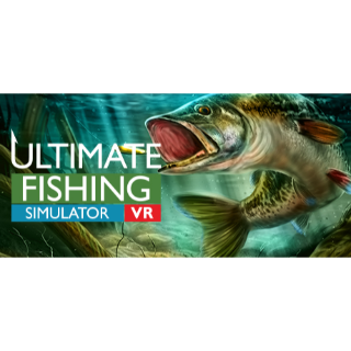 Ultimate Fishing Simulator VR (Global) - Playable Now - FULL GAME - Steam Instant - G95