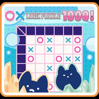 〇× LOGIC PUZZLE 1000 ! - Switch EU - Full Game - Instant - N43
