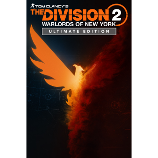 Tom Clancy's The Division 2 Warlords of New York Ultimate Edition Xbox One