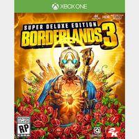 Borderlands 3 Super Deluxe Xbox One