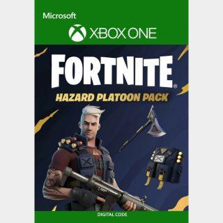 Fortnite Hazard Platoon Pack Xbox One