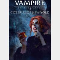 Vampire The Masquerade Coteries of New York Xbox One