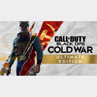 Call of Duty Black Ops Cold War Ultimate Edition Xbox One