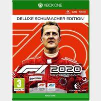 F1 2020 Deluxe Schumacher Edition Xbox One