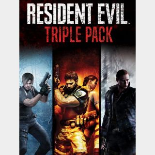 Resident Evil: Triple Pack Xbox One