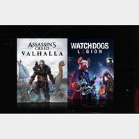 Assassin's Creed Valhalla + Watch Dogs Legion Bundle Xbox One