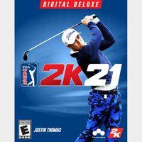 PGA Tour 2K21 Deluxe Xbox One