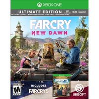 Far Cry 5 Gold + Far Cry New Dawn Deluxe Xbox One