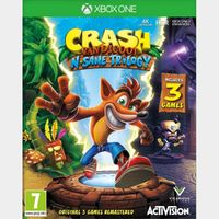 Crash Bandicoot N Sane Trilogy Xbox One