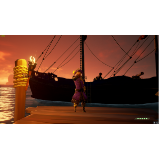 I will help you level up in sea of thieves