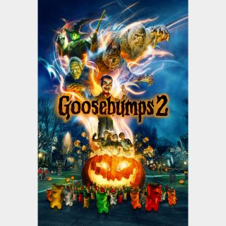 Goosebumps 2: Haunted Halloween - HD - Instant - MA